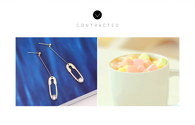 Copper Earring Korea NHPS110585