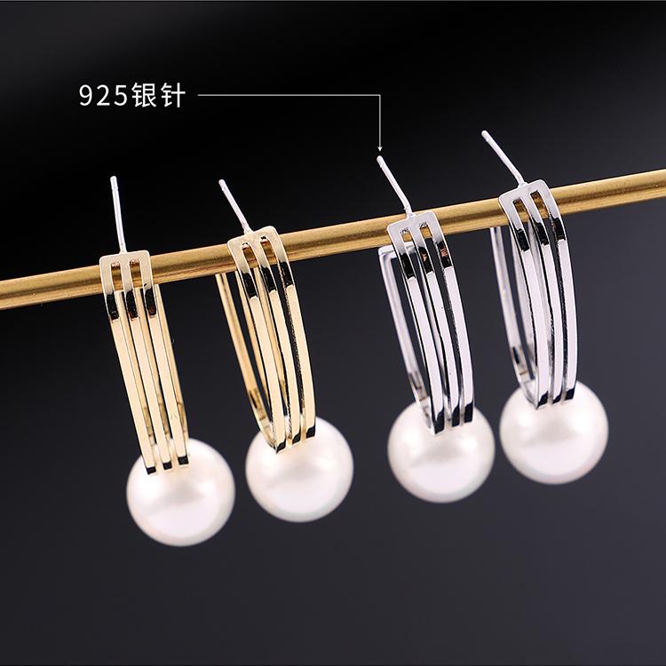 Copper plating earring  NHPS54325