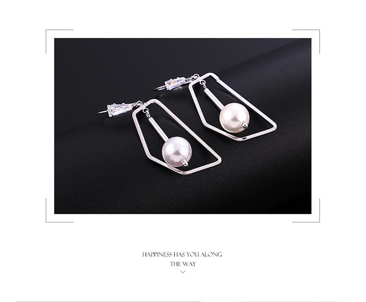 Copper plating earring  NHPS54319