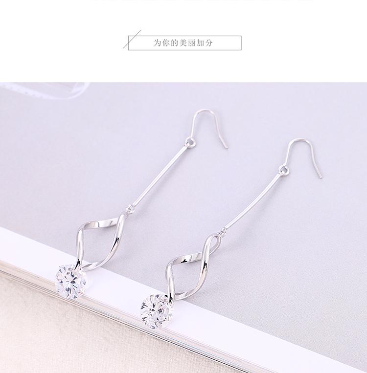 Copper plating earring  NHPS54306