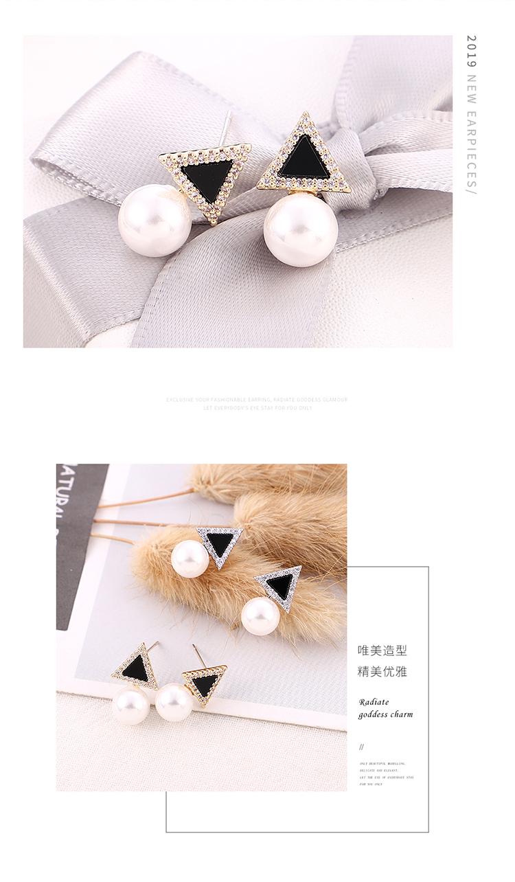 Copper plating earring  NHPS54286