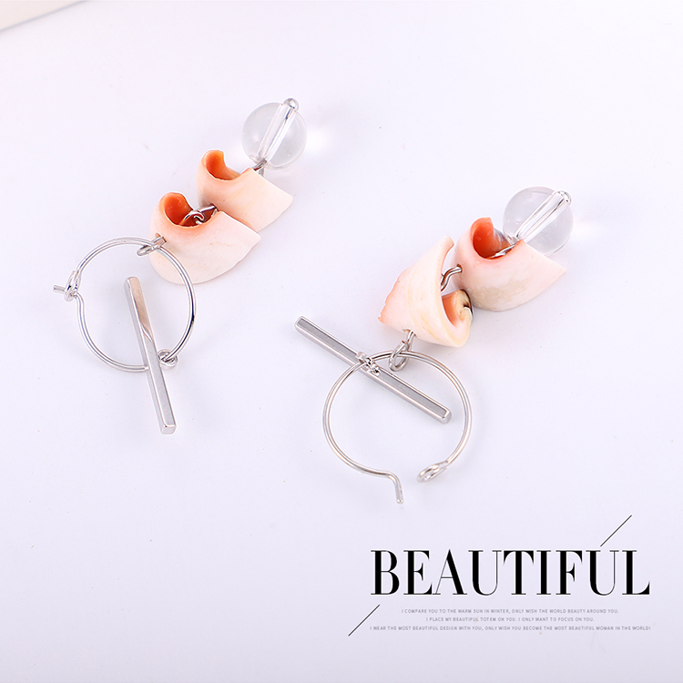 Alloy earring Korea NHPS54384