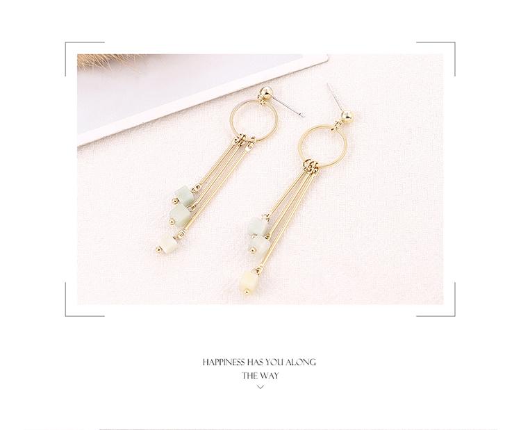 Copper plating earring  NHPS54281