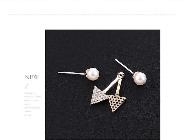 Copper plating earring  NHPS54279