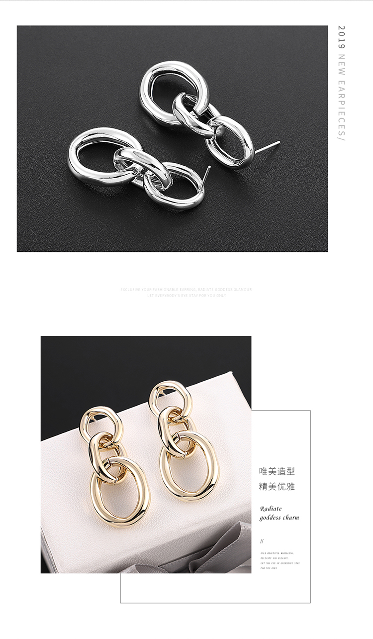 Copper plating earring  NHPS54275