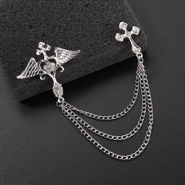 Alloy Korea brooch NHPS51454
