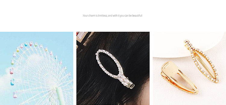 Alloy Korea Hair accessories NHPS51612