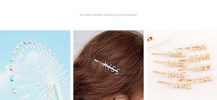 Alloy Korea Hair accessories NHPS51565