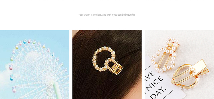 Alloy Korea Hair accessories NHPS51550