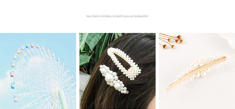 Alloy Hair accessories Korea NHPS54114