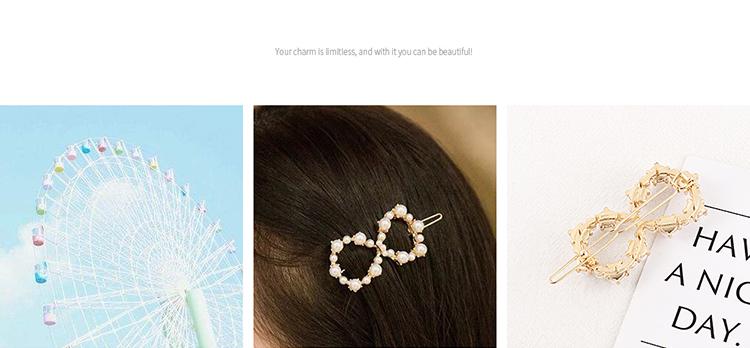 Alloy Hair accessories Korea NHPS54112