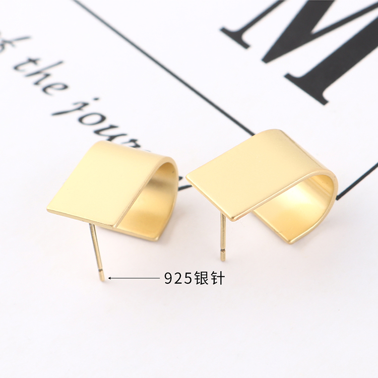 S925 Silver Needle Earring Fashion NHPS383326