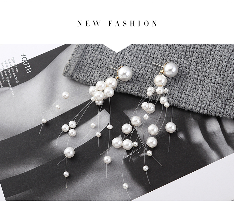 S925 Silver Needle Earring Fashion NHPS383324