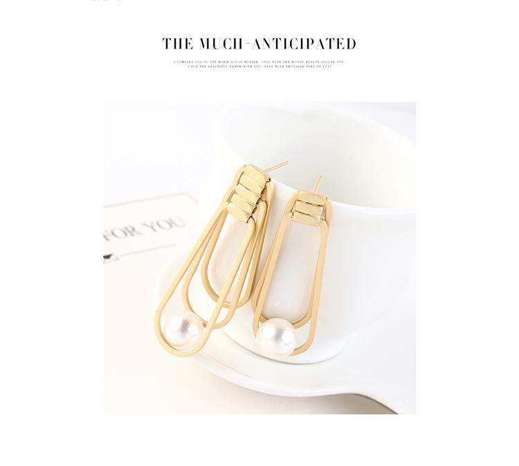S925 Silver Needle Earring Fashion NHPS383321
