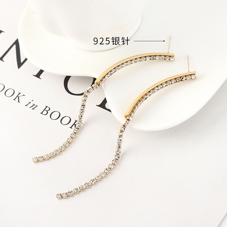 S925 Silver Needle Earring Fashion NHPS383309