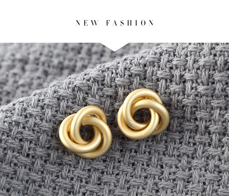 S925 Silver Needle Earring Fashion NHPS383306