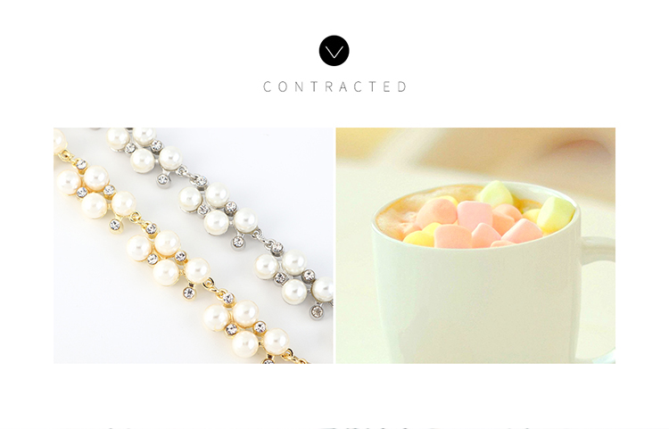 Korean Classic Fashion Retro Pearl Bracelet Wholesale NHPS207000