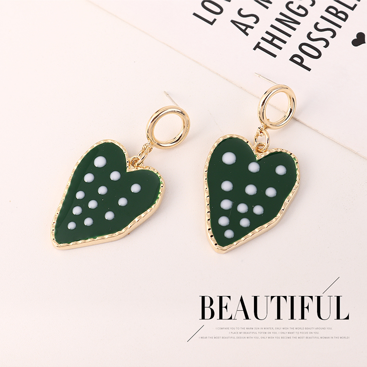 Korean Simple Cute Wild Gold Plated Strawberry S925 Silver Pin Earrings Wholesale NHPS205287