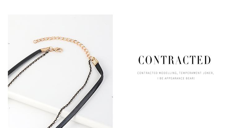 Korean exaggerated fashion wild creative necklace NHPS204108