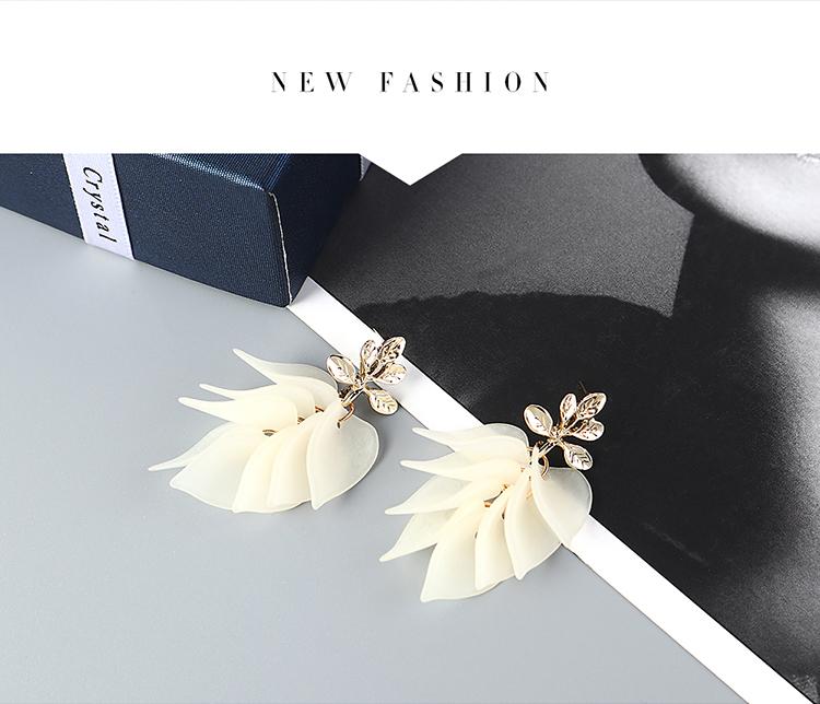 New fashion grass earrings for women wholesale NHPS205310