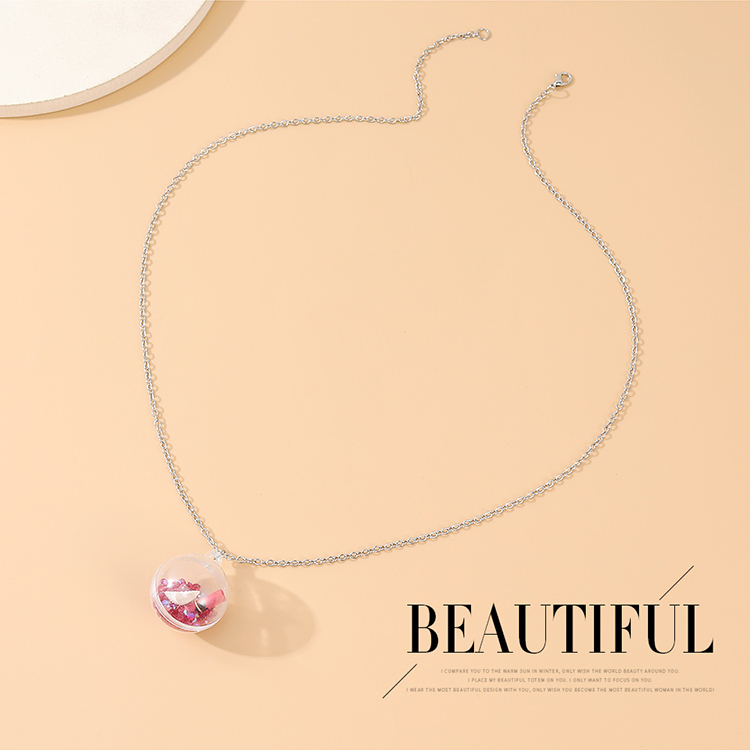 Korean simple sweater chain for women fresh and fashionable wild tide shell sweater chain nihaojewelry NHPS237313