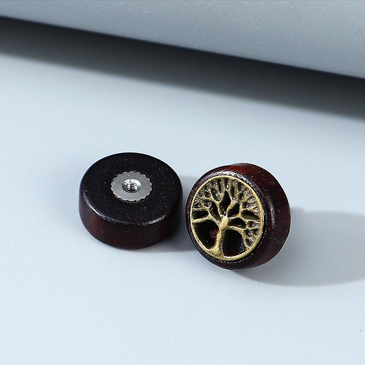 Korean fashion creative exaggeration popular small tree mens unilateral earrings wholesale nihaojewelry NHPS243742