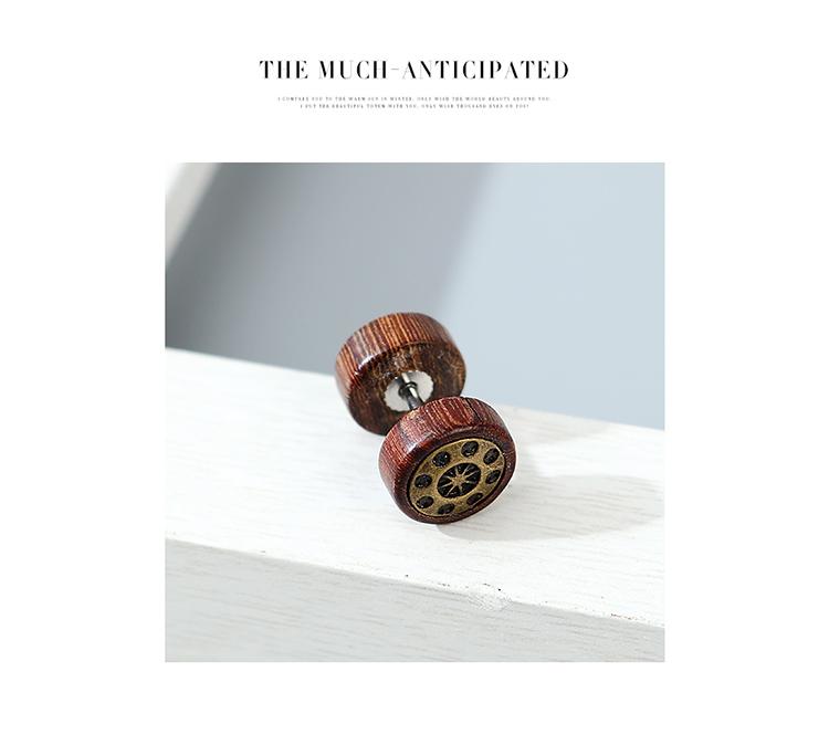 Korean retro fashion Harajuku style unilateral mens earrings wholesale nihaojewelry NHPS243748