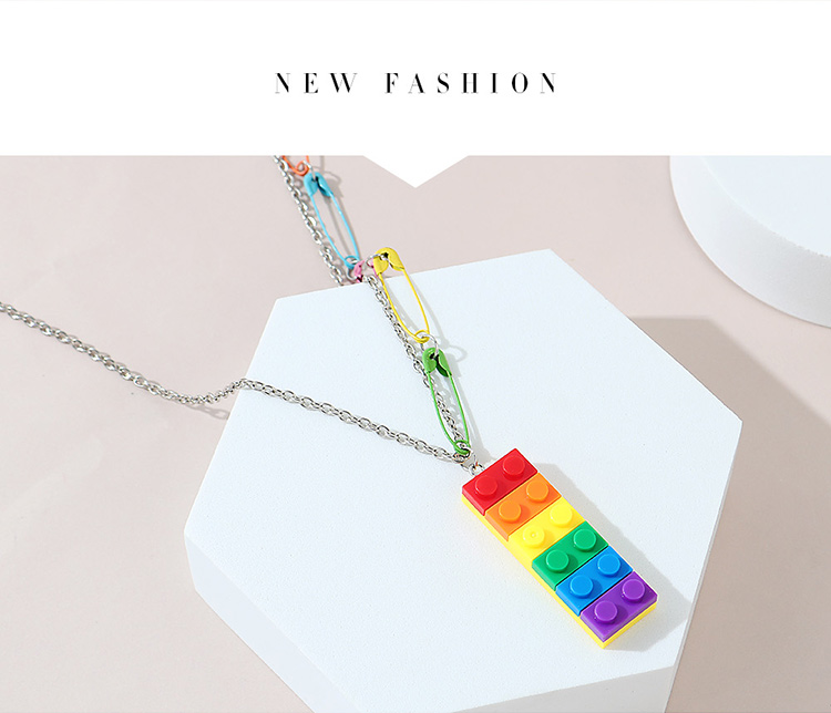 creative exaggerated personality wild  trend sweater chain NHPS245965
