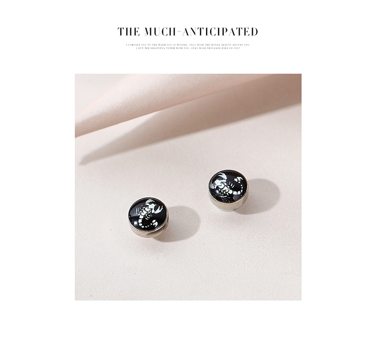 Korean fashion new exaggerated mens earrings hotsaling wholesale NHPS258112