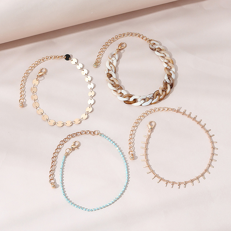 Hot selling fashion popular womens bracelet set wholesale NHPS261191
