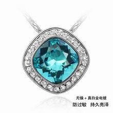 奥地利水晶项链-珍宝(彩蓝)