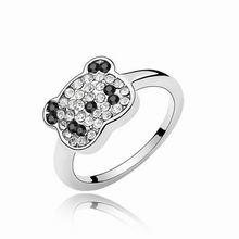 奥地利水晶戒指--小熊