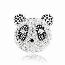 奥地利水晶胸针-可爱熊猫宝宝