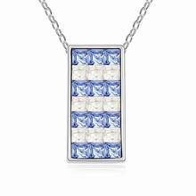 奥地利水晶项链-- 威廉古堡(浅蓝)