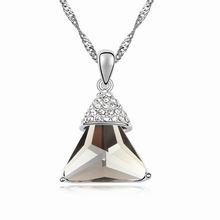 镀真金时光荏苒精品项链(黑钻石)