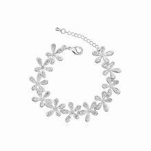 奥地利水晶手链--笑颜如花(白色)