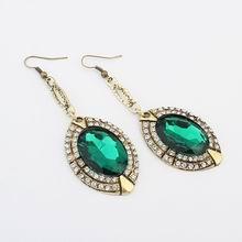 欧美时尚奢华宝石耳环