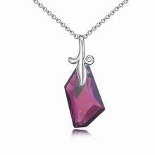 奥地利水晶项链--聆听幸福(紫色)