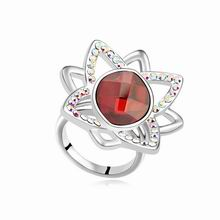 奥地利水晶戒指--情定水舞间(水晶红岩)