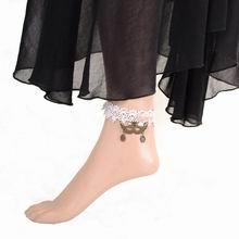 欧美时尚新款哥特蕾丝脚链--9
