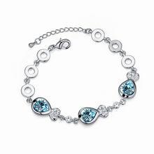 奥地利水晶手链--如鱼得水(海蓝)