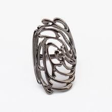 欧美朋克风格个性戒指(黑色)