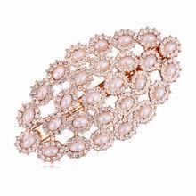 奥地利水晶发夹--满珠琉璃