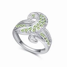奥地利水晶戒指--迪克牛仔(橄榄)