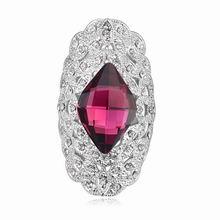 奥地利水晶戒指--沉沉楚天阔(紫色)