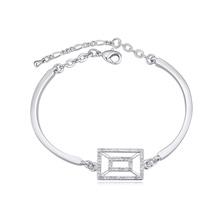 奥地利水晶手链--陌上花歌(白色)