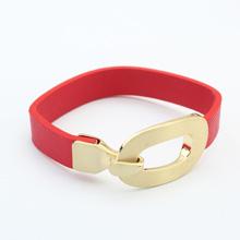 欧美时尚简约手镯(红色)