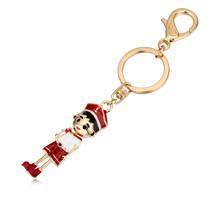 钥匙扣--运动少年(香槟金红色)