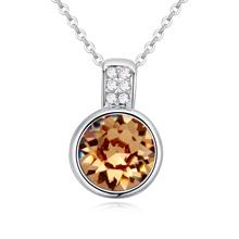 奥地利水晶项链--木梨(金色魅影)