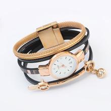 欧美时尚简约手表(黑色)